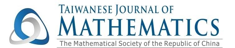 Taiwanese Journal of Mathematics